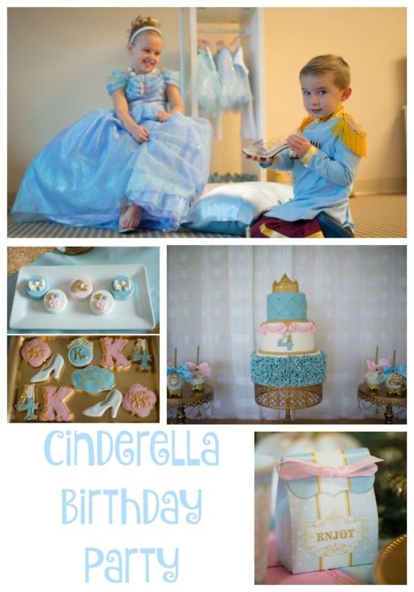 Cinderella Birthday Party Ideas Pretty My