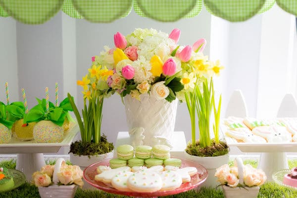 Easter Bunny Styled Photo Shoot