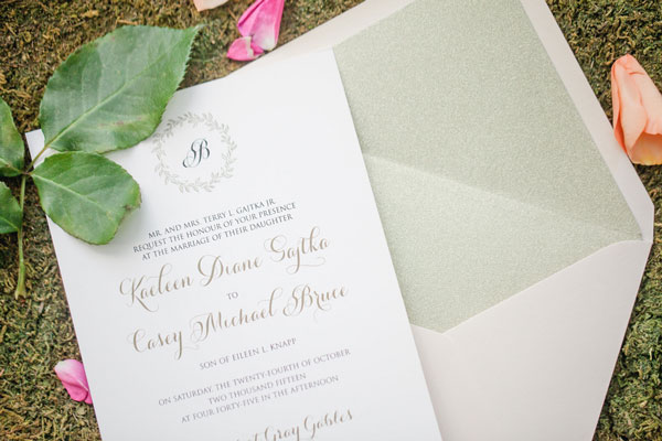Enchanted Forest Themed Wedding Invitations: Enchanted Forest Bridal Photo Shoot