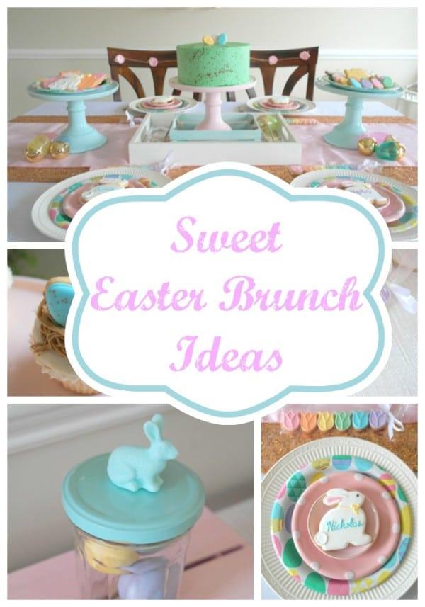 Brunch Ideas For Easter: Sweet Easter Brunch