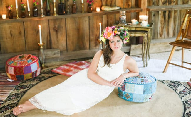 How to plan the perfect boho chic baby shower