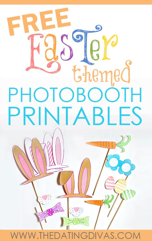 Free Easter Photo Booth Printables