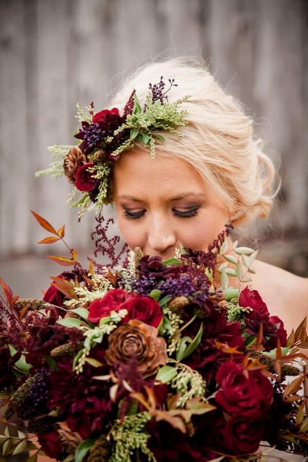 rustic-ski-lodge-wedding-bride