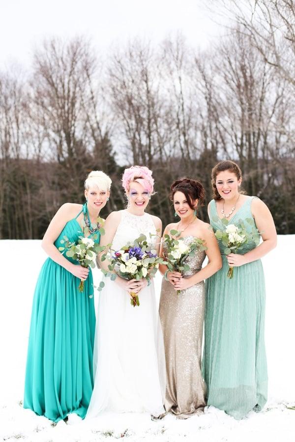 unicorn wedding styled shoot