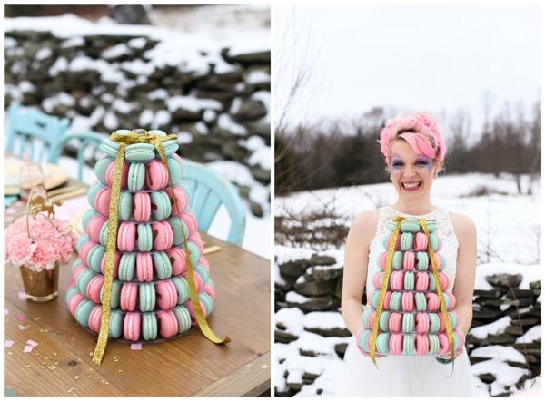 unicorn-styled-wedding-shoot-macaroons-2
