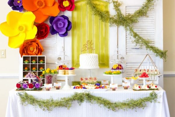 Floral Inspired Baby Shower