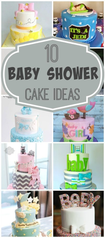10 Baby Shower Cakes via Pretty My Party