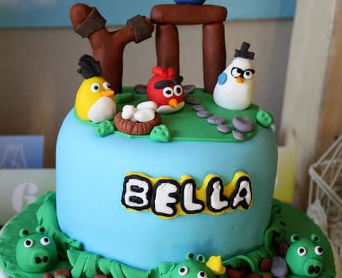 Angry Birdday Party