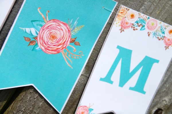 Miss to Mrs Bridal Shower Banner - Pretty My Party