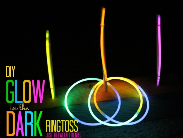 Glow in the Dark Ring Toss, Fun Party Games