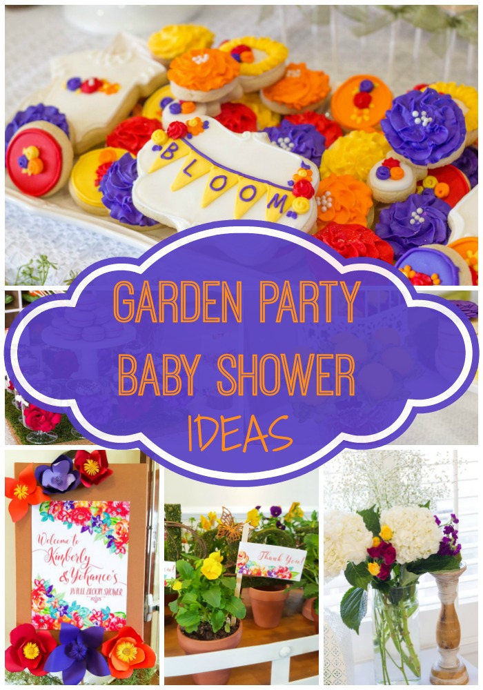 Floral Inspired Baby Shower via Pretty My Party
