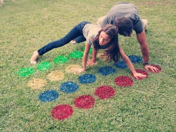 Lawn Twister, 25 Best Backyard Birthday Bash Games