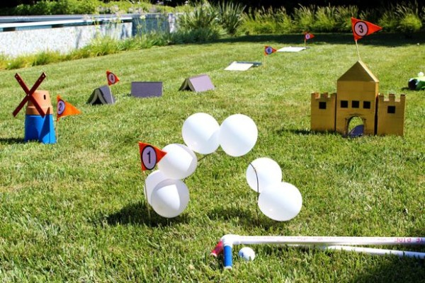 Mini Golf Course, Outdoor Games For Kids