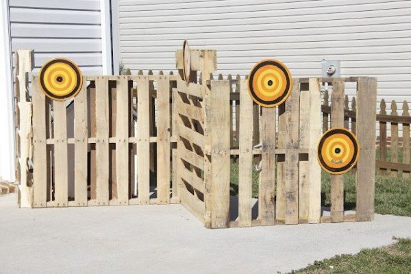 Nerf Target Games, Outdoor Games For Kids