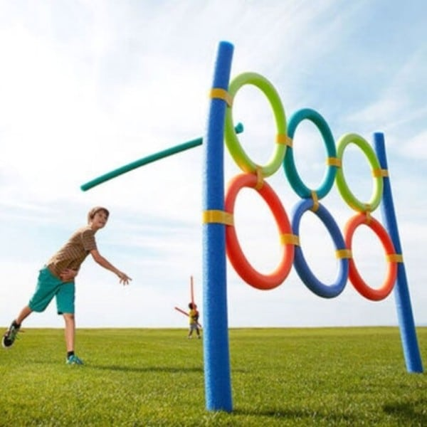 Pool Noodle Olympics Backyard Games 25 Best Birthday Bash