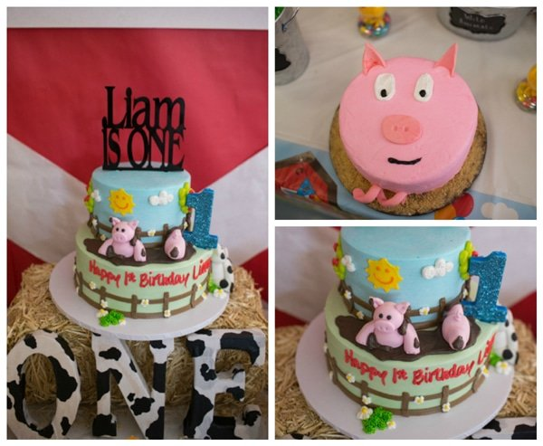 Farm Themed First Birthday Party Pretty My