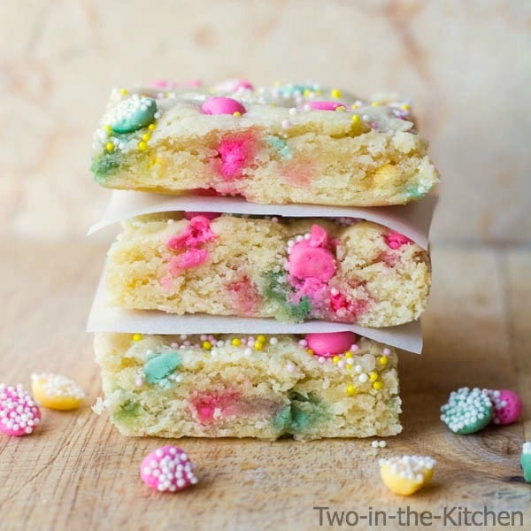 Mint Sugar Cookie Bars