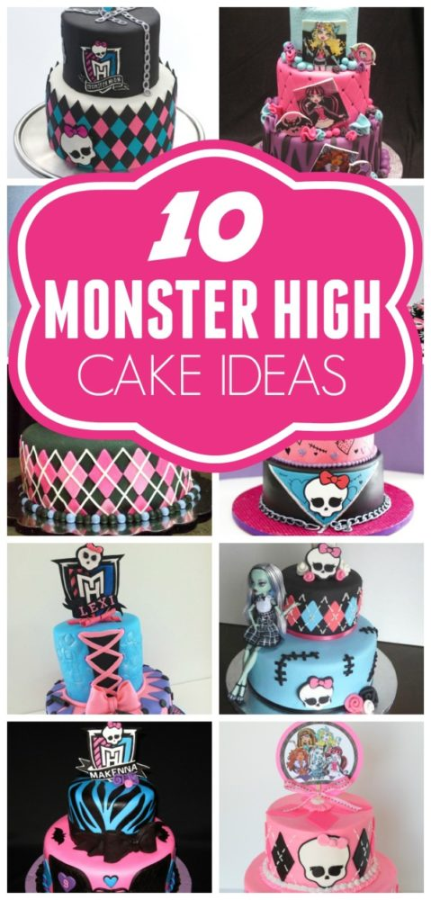 Birthday Cake Ideas Monster High