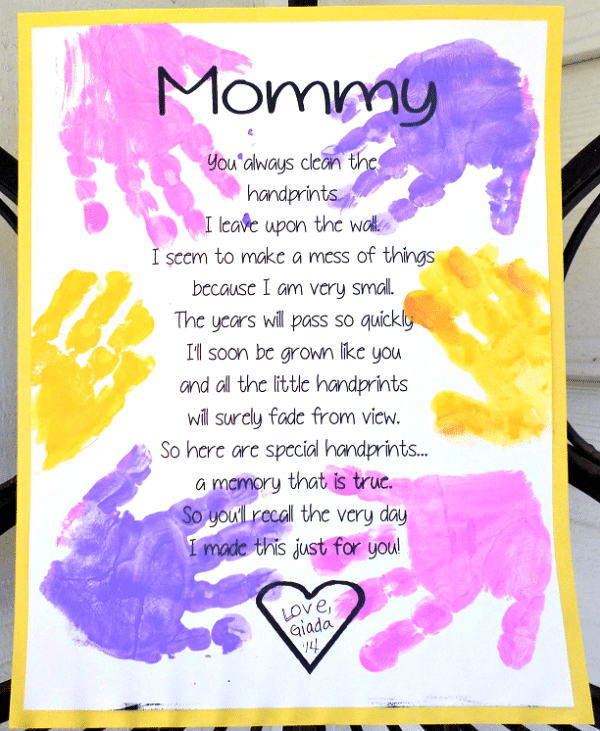 Free Printable Mothers Day Poems 5