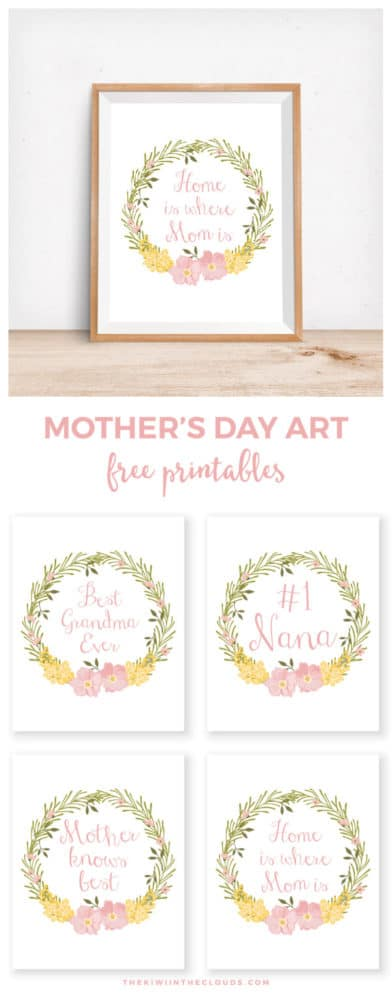 free mother u0027s day printables pretty my party