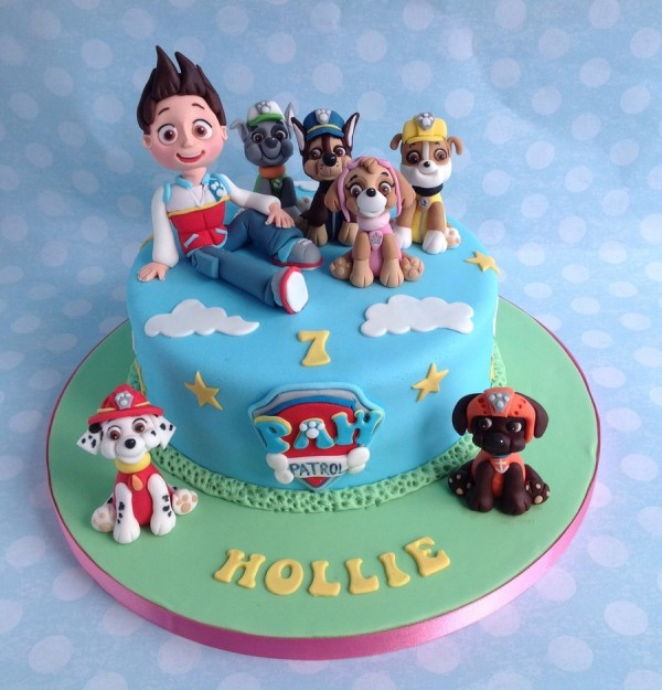 Dog Themed Birthday Cake Ideas