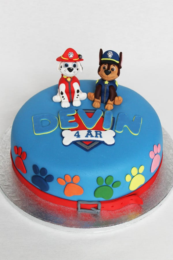 Images Of Paw Patrol Birthday Cake : 10 Perfect Paw Patrol Birthday Cakes - Pretty My Party