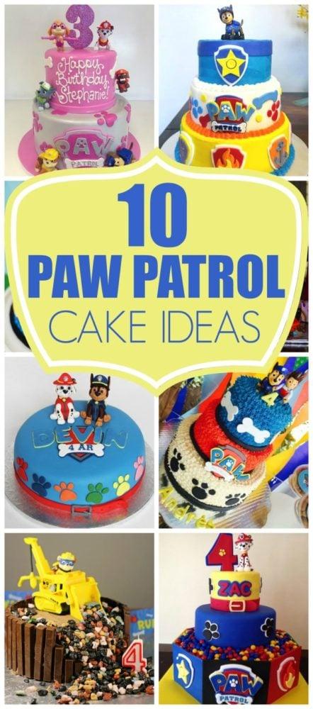 10 Perfect Paw Patrol Birthday Cakes on Pretty My Party