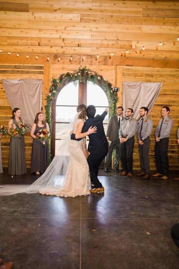 Southern Rustic Charm Wedding Theme ceremony decor| Pretty My Party