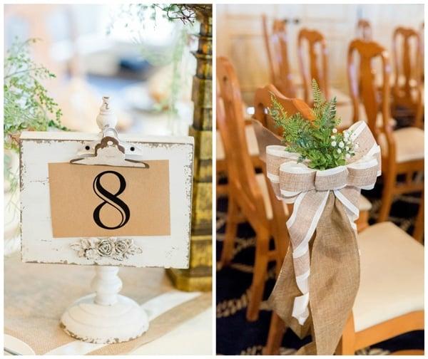 burgundy-ivory-wedding-burlap-details