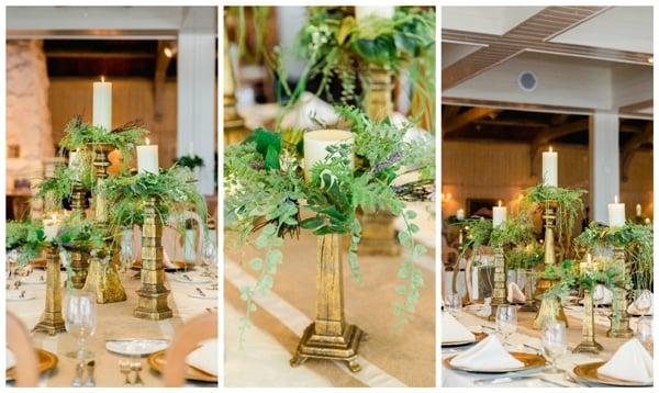 burgundy-ivory-wedding-centerpieces