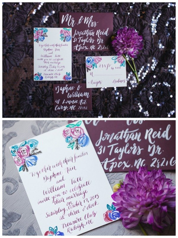 Dark Romantic Styled Wedding Shoot | Pretty My Party