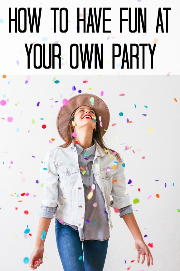 How to be a happier hostess and have fun at your own party | Pretty My Party