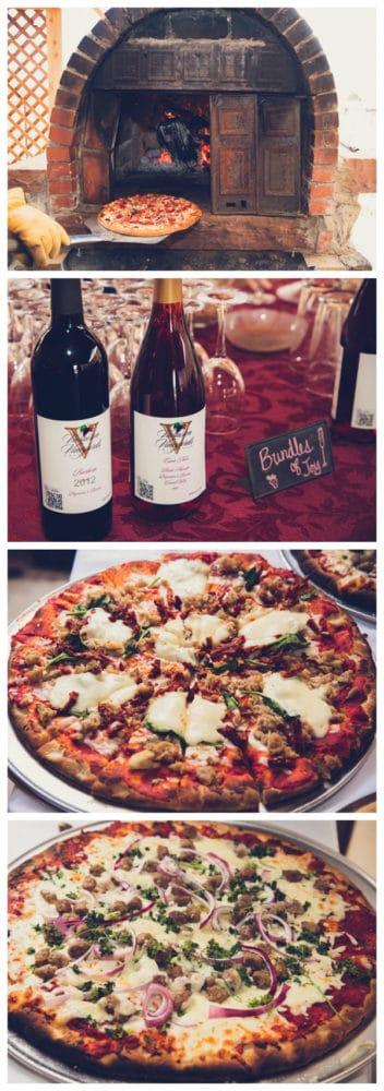 girly-vintage-garden-baby-shower-pizza