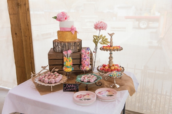 girly-vintage-garden-baby-shower-sweets-table