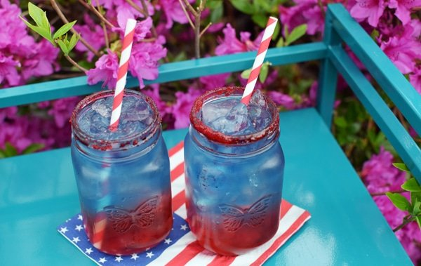 Patriotic Punch Recipe | Pretty My Party
