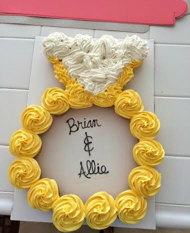 21 Pull Apart Cupcake Cake Ideas - Pretty My Party