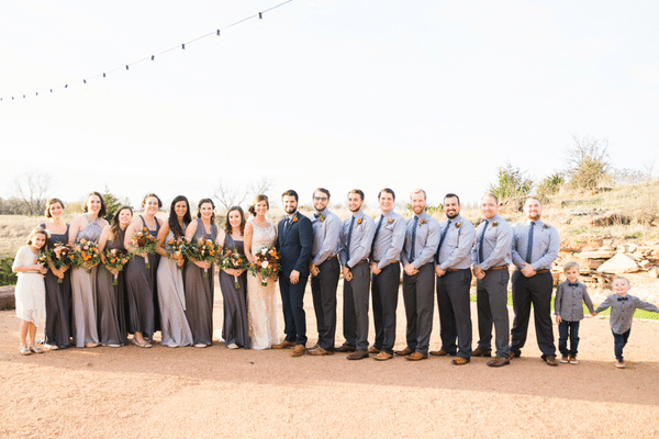 Southern Rustic Charm Wedding Theme bridal party| Pretty My Party