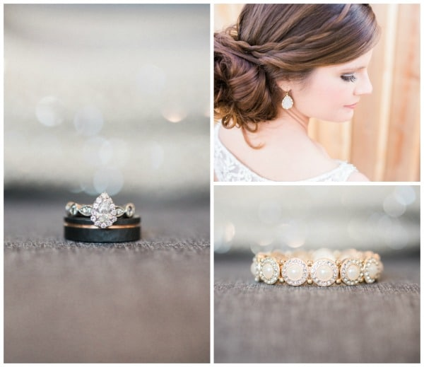 Southern Rustic Charm Wedding Theme bride details | Pretty My Party