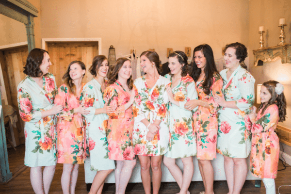Southern Rustic Charm Wedding Theme bridesmaids | Pretty My Party