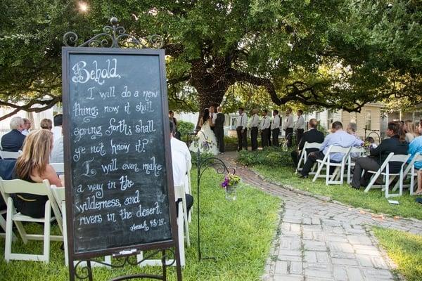 vintage-summer-nuptials-ceremony-sign