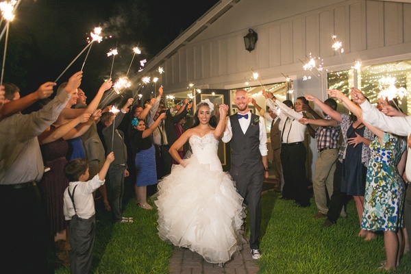 vintage-summer-nuptials-sparkler-exit