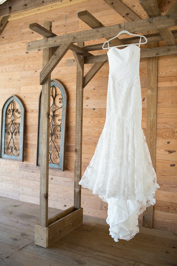 Earthy Chic Vow Renewal Styled Shoot dress | Pretty My Party