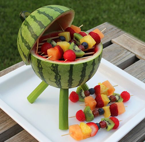 Grill Watermelon Carving