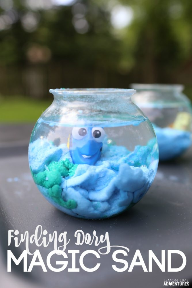 40 finding dory birthday party ideas pretty my party for Finding dory crafts for preschoolers
