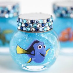 Finding Dory Party Ideas, Glitter Slime