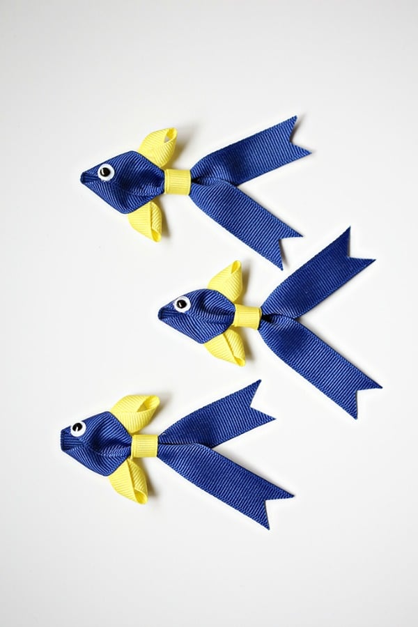 Ribbon Fish Headband or Clip, Finding Dory Birthday Party Ideas | Pretty My Party