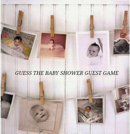 Guess the Baby Shower Guest Game, 15 Entertaining Baby Shower Games via Pretty My Party