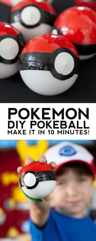 Pokemon Party Favor, Creative Pokemon Birthday Party Ideas via Pretty My Party