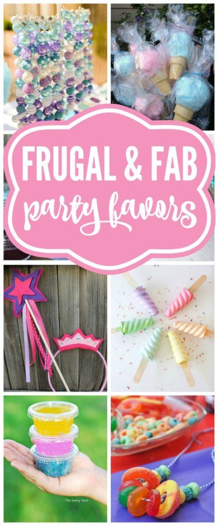 Budget Birthday Favor Ideas For Girls - Pretty My Party