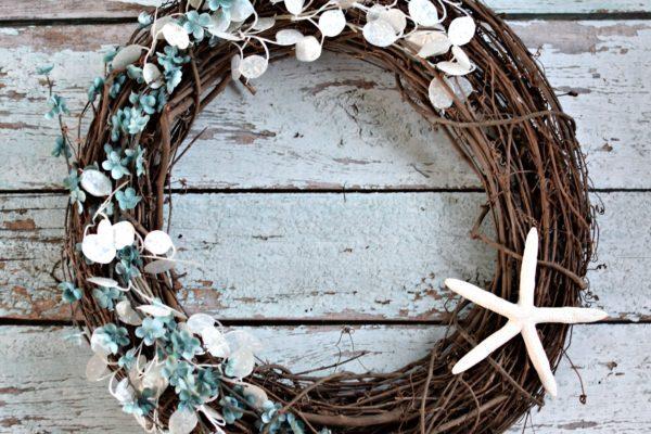DIY Beach Inspired Wreath